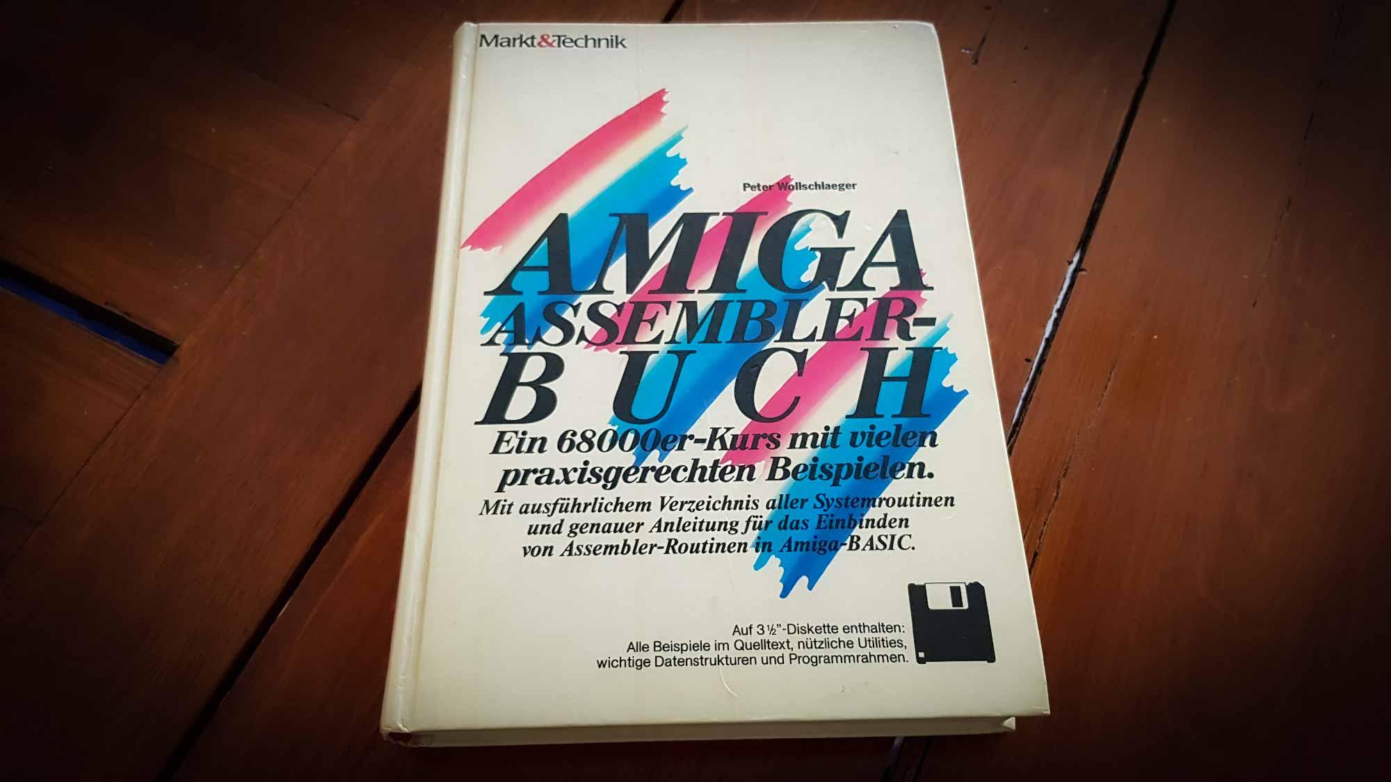 Amiga Assembler Buch