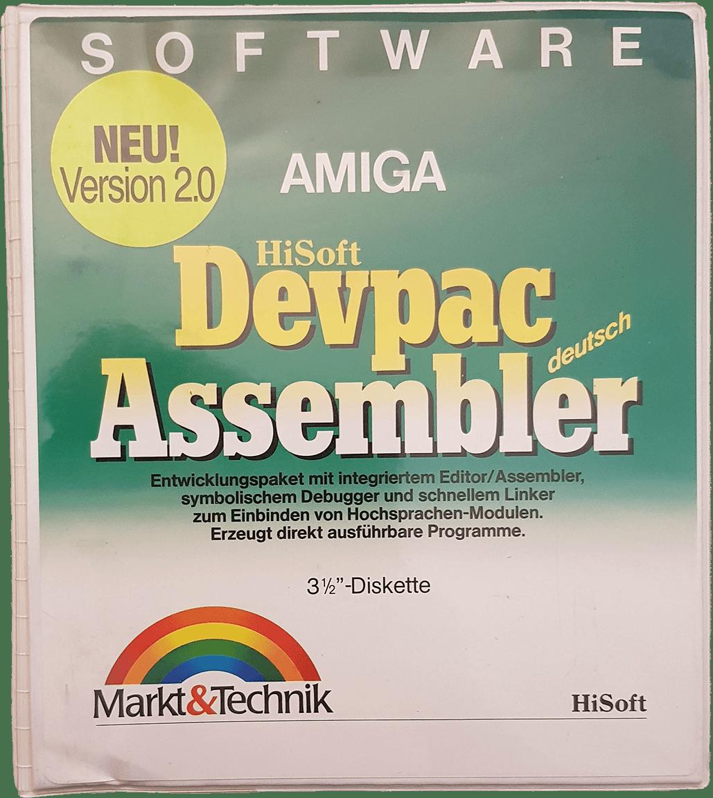 Devpac Assembler 2.0