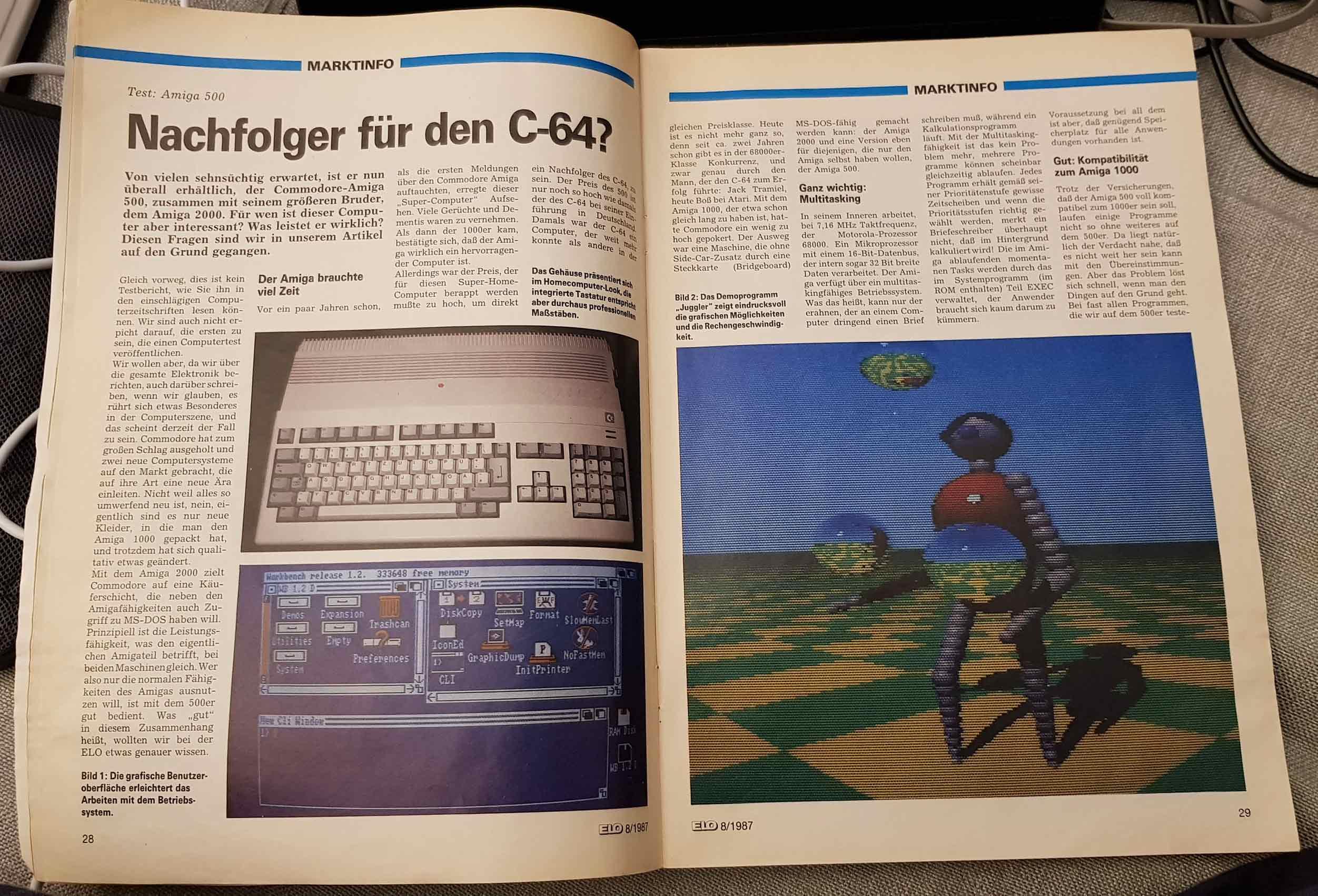 ELO Magazin August 1987