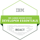 IBM Carbon Design System Developer Essentials - React