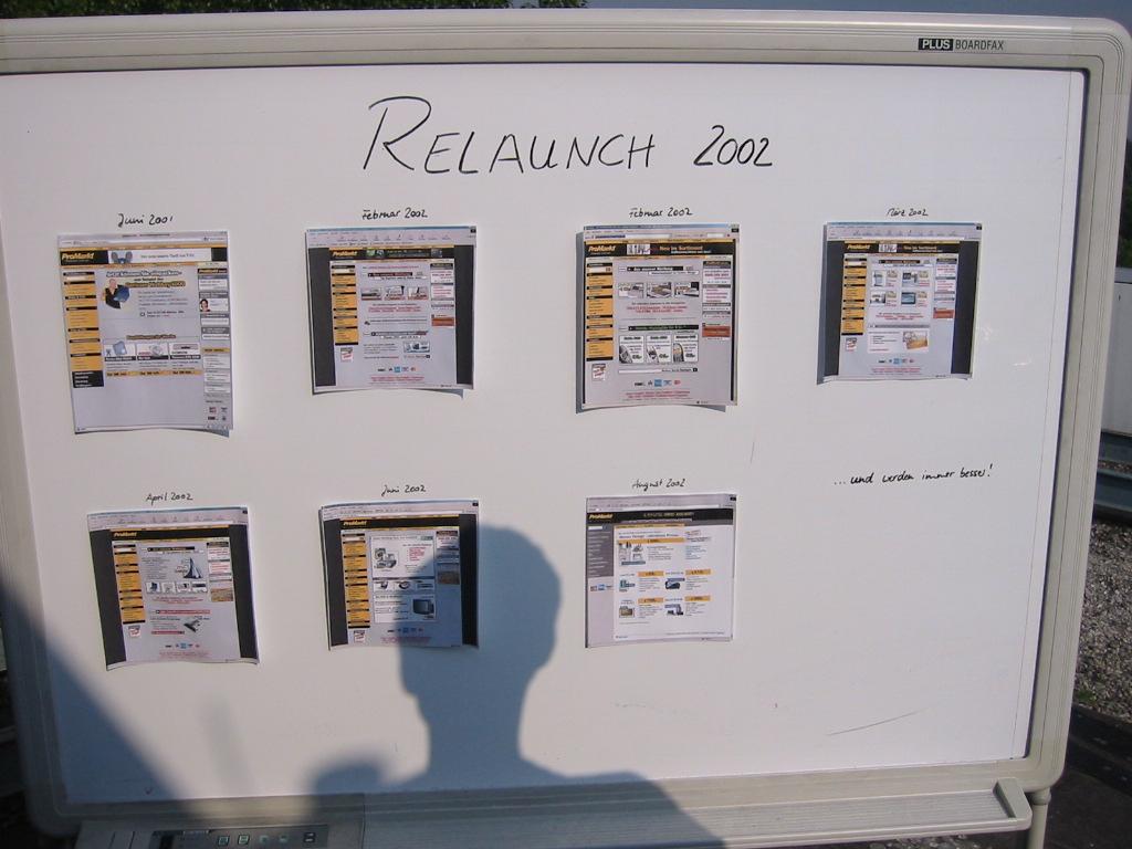 ProMarkt Relaunch 2002 Düsseldorf